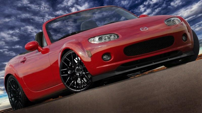 Splitter Przedni Mazda MX-5 MK3 NC Przedlift - GRUBYGARAGE - Sklep Tuningowy